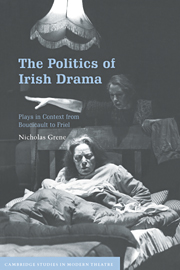 The Politics of Irish Drama