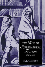 The Rise of Supernatural Fiction, 1762–1800