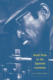 Small Firms in the Japanese Economy
