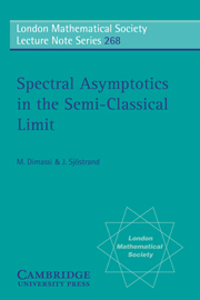 Spectral Asymptotics in the Semi-Classical Limit