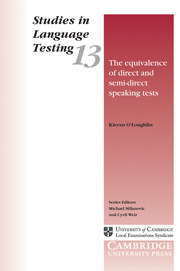 The Equivalence of Direct and Semi-Direct Speaking Tests