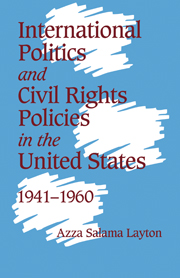 International Politics and Civil Rights Policies in the United States, 1941–1960