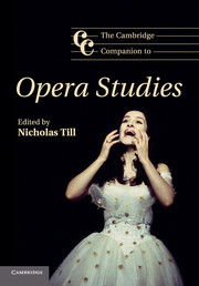 The Cambridge Companion to Opera Studies
