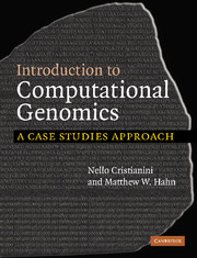 Introduction to Computational Genomics