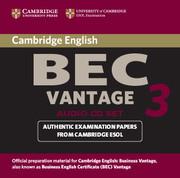 Cambridge BEC Vantage 3