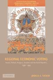 Regional Economic Voting