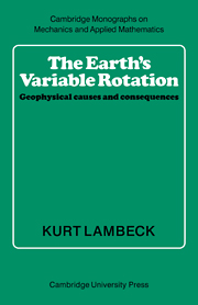 The Earth's Variable Rotation