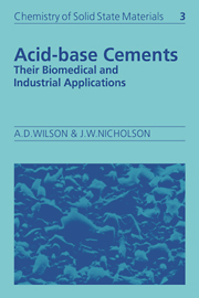 Acid-Base Cements