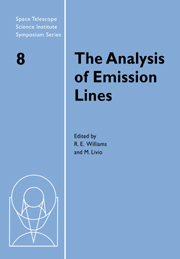 The Analysis of Emission Lines