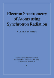 Electron Spectrometry of Atoms using Synchrotron Radiation