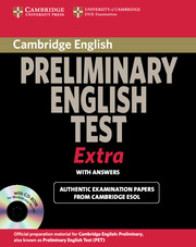 Cambridge Preliminary English Test - Exam Extra
