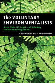 The Voluntary Environmentalists