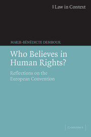 Who Believes in Human Rights?