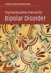 Psychoeducation Manual for Bipolar Disorder