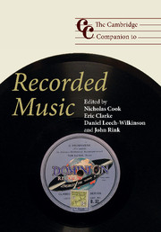 The Cambridge Companion to Recorded Music