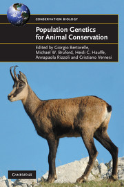 Population Genetics for Animal Conservation