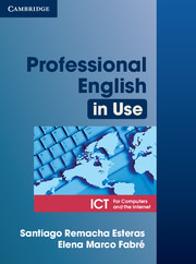 Professional English in Use ICT Student's Book