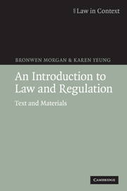An Introduction to Law and Regulation