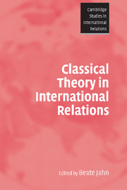 Classical Theory in International Relations