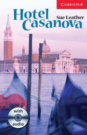 Hotel Casanova Level 1 Book with Audio CD Pack