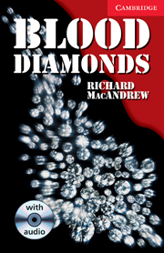 Blood Diamonds Level 1 Book with Audio CD Pack