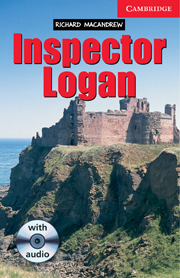 Inspector Logan Level 1 Book with Audio CD Pack