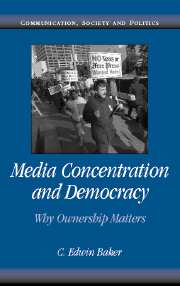Media Concentration and Democracy