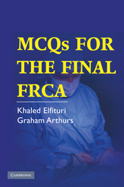 MCQs for the Final FRCA