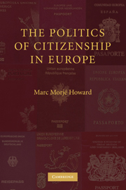The Politics of Citizenship in Europe