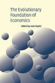 The Evolutionary Foundations of Economics