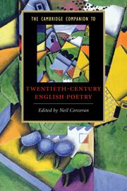 The Cambridge Companion to Twentieth-Century English Poetry