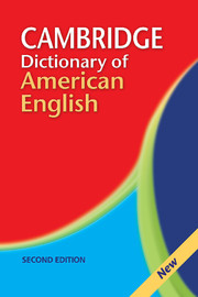 Camb Dict of American English 2ed