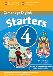 Cambridge Young Learners English Tests 4 2nd Edition
