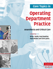 Core Topics in Operating Department Practice