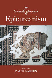 The Cambridge Companion to Epicureanism