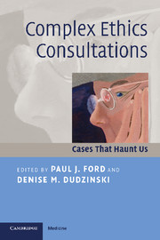 Complex Ethics Consultations