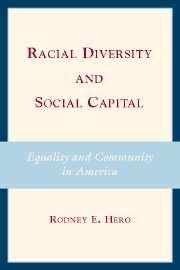 Racial Diversity and Social Capital