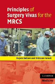 Principles of Surgery Vivas for the MRCS