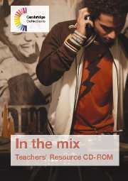 In the Mix Teachers' Resource CD-ROM