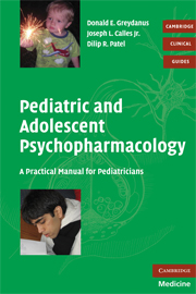 Pediatric and Adolescent Psychopharmacology