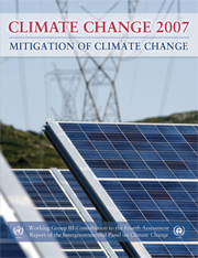 Climate Change 2007: Mitigation of Climate Change