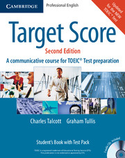 Target Score for the new TOEIC(TM) Test