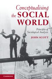 Conceptualising the Social World