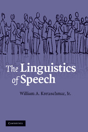 The Linguistics of Speech