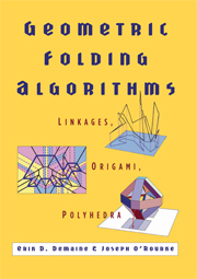 Geometric Folding Algorithms