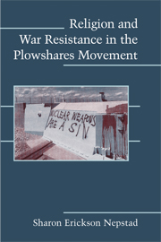 Religion and War Resistance in the Plowshares Movement