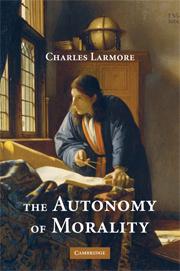 The Autonomy of Morality