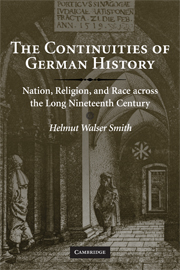 The Continuities of German History