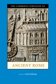 The Cambridge Companion to Ancient Rome