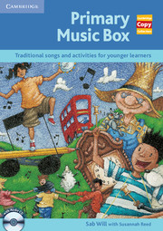 Primary Music Box with Audio CD
